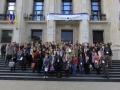 LE_NOTRE Landscape Forum Bucharest 2015 participants just before the site visits