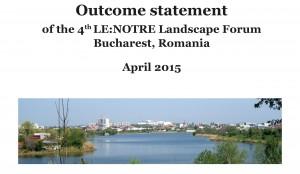 Outcome Statement Landscape Forum Bucharest - FINAL-1