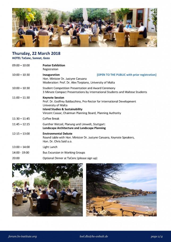 LLF Malta Programme 2