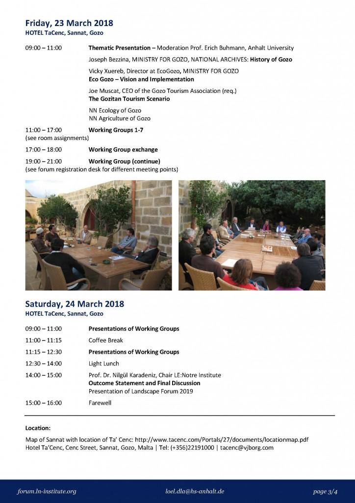 LLF Malta Programme 3